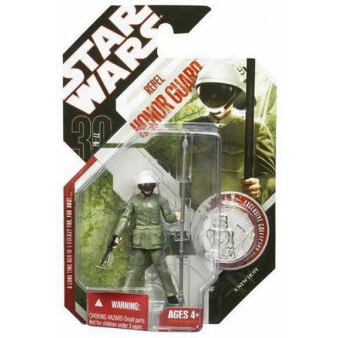 #10 Rebel Honor Guard Star Wars The 30th Anniversary 3.75""