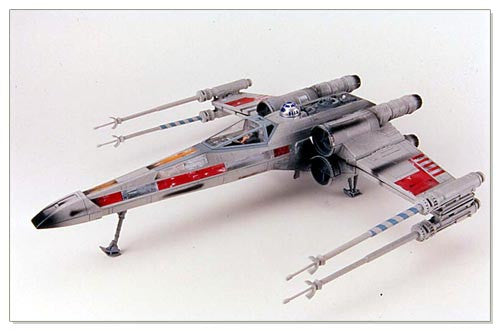 "X-Wing Red Leader Electronic Power F/X 3.75"" Loose"