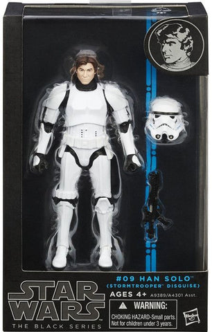 #09 Han Solo Stormtrooper Disguise Star Wars Black Series 6""