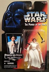 Princess Leia Organa Red Card POTF2 NEW 3.75""