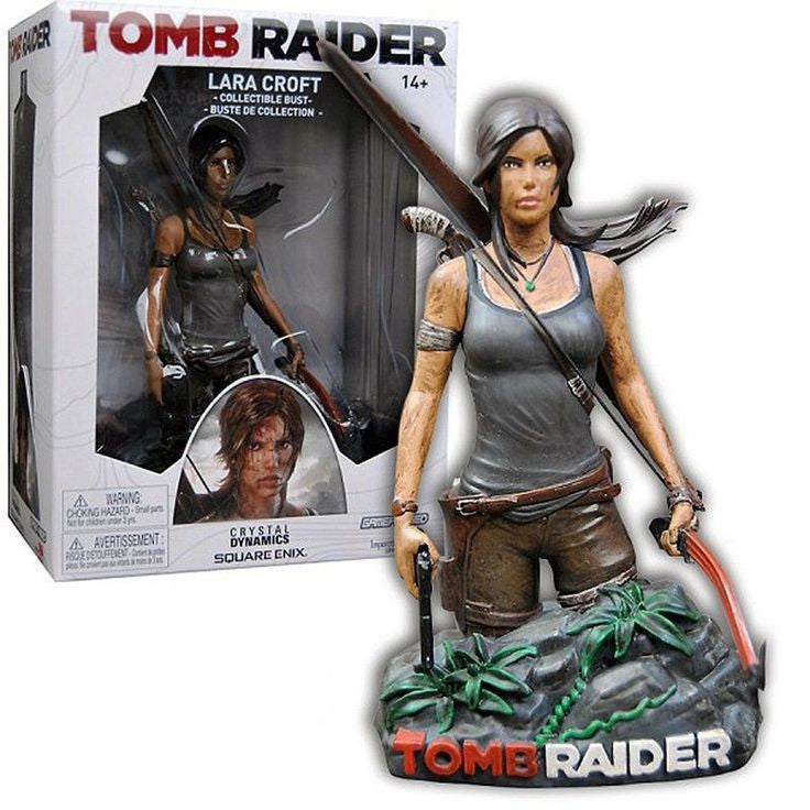 Tomb Raider Lara Croft Collectible Bust NEW