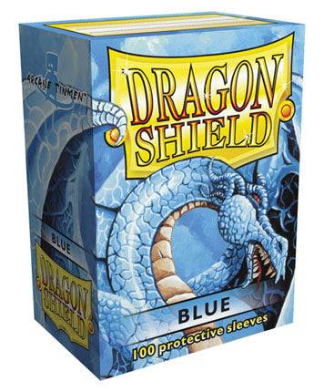 Dragon Shield - 100ct Standard Size - Blue