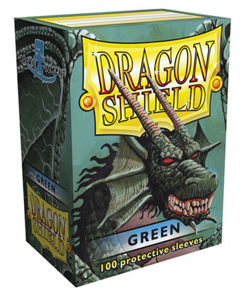 Dragon Shield - 100ct Standard Size - Green