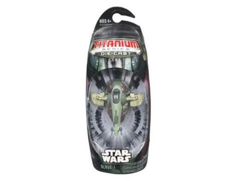 Slave I - Boba Fett Titanium Series Scaled Model Vehicle (2005)