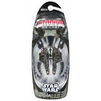 Darth Vader's Sith Starfighter Titanium Series Scaled Model Vehicle