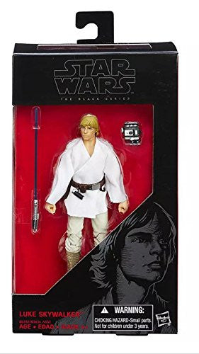 #21 Luke Skywalker Star Wars Black Series 6""