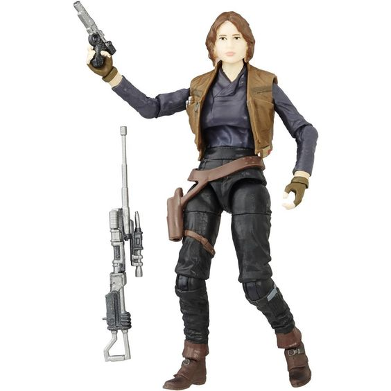 "Sergeant Jyn Erso Star Wars Black Series 3.75"" Loose (incomplete)"