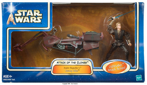 Anakin Skywalker Swoop Bike Star Wars 3.75""