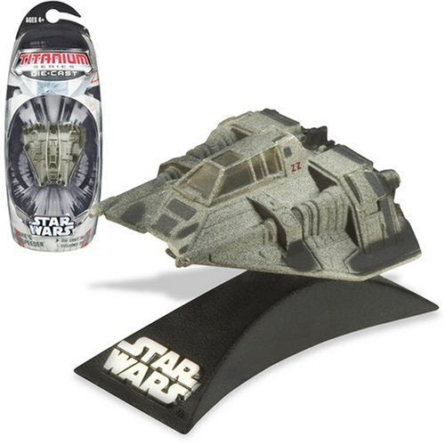 Luke's Snowspeeder Titanium Series Scaled Model Vehicle (2007)