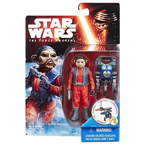 Nien Nunb Star Wars The Force Awakens 3.75""