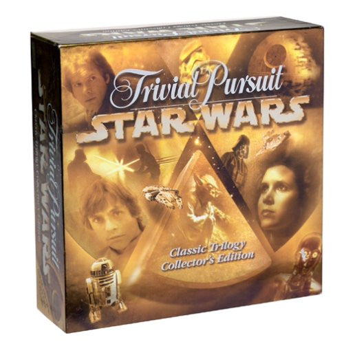 Star Wars Trivial Pursuit Classic Trilogy Edition NEW/SEALED