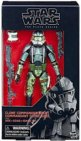 Commander Gree Star Wars Black Series 6""