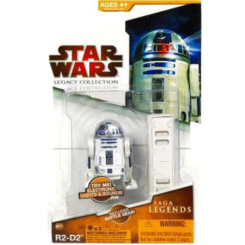 SL02 R2-D2 Star Wars Legacy Collection 3.75""