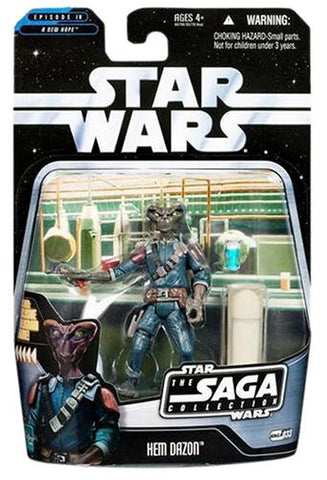 #033 Hem Dazon Star Wars The SAGA Collection 3.75""