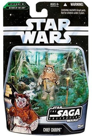 #039 Chief Chirpa Ewok Star Wars SAGA Collection 3.75""