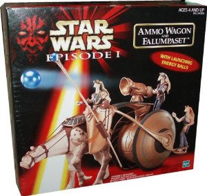 Ammo Wagon and Falumpaset Star Wars Episode 1 3.75""