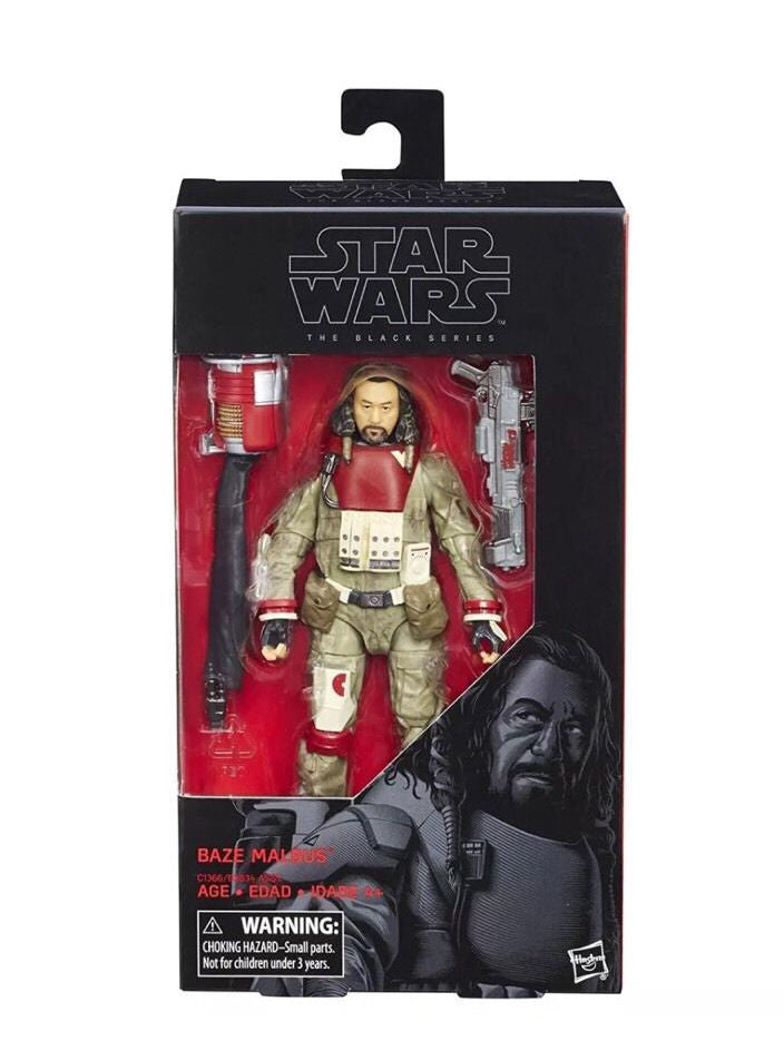 #37 Baze Malbus Star Wars Black Series 6""
