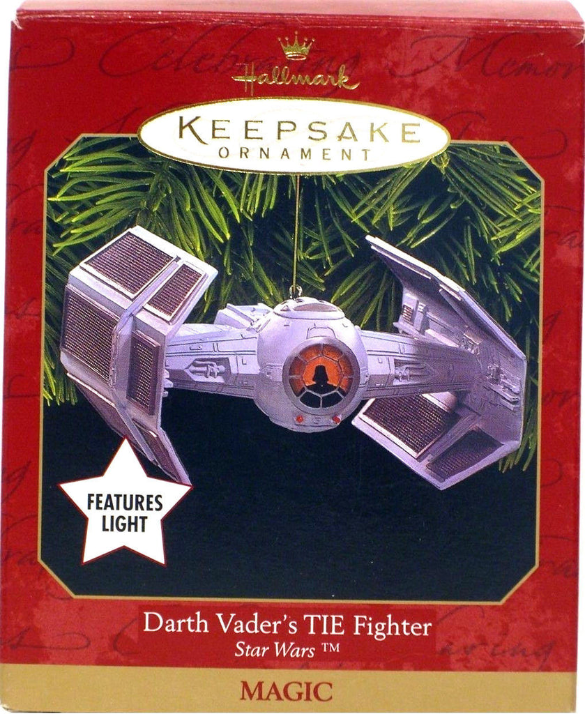 Darth Vader's TIE Fighter Keepsake Christmas Ornament