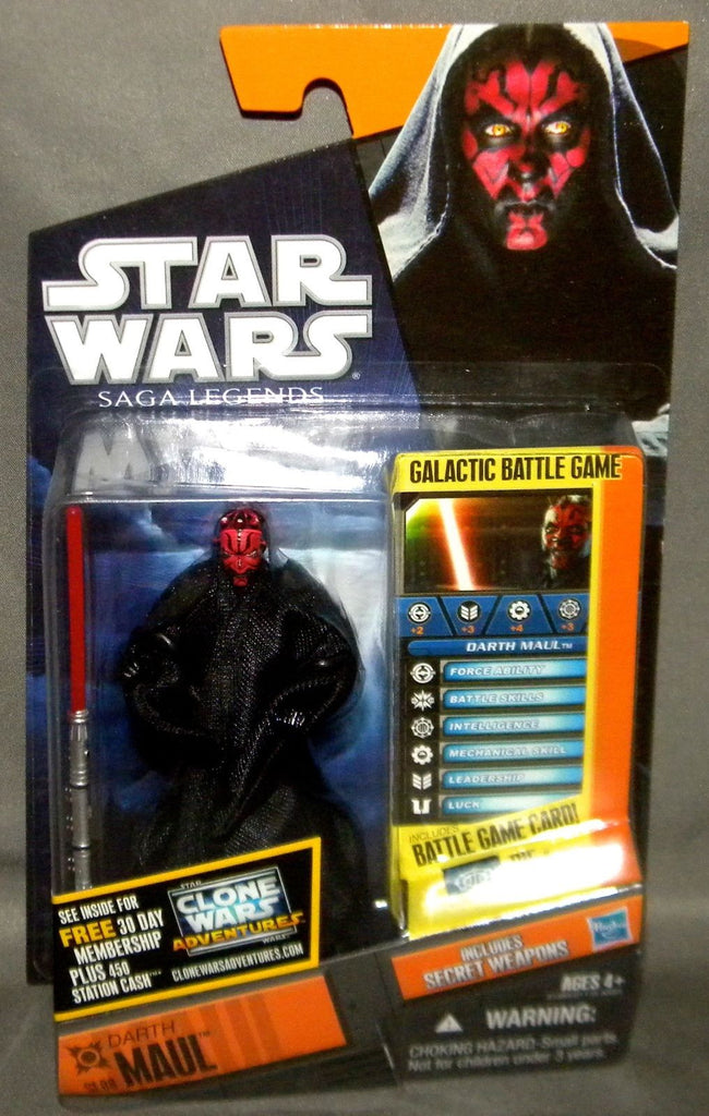 SL08 Darth Maul Saga Legends 3.75""