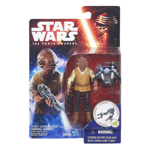 Admiral Ackbar Star Wars The Force Awakens 3.75""