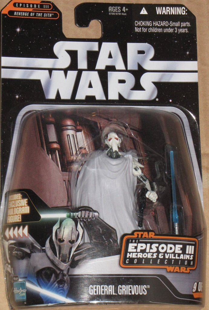 General Grievous Heroes & Villains 3.75""