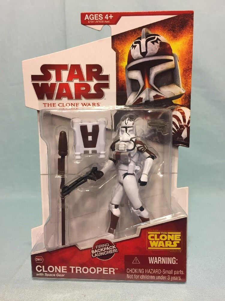 CW02 Clone Trooper with Space Gear 3.75