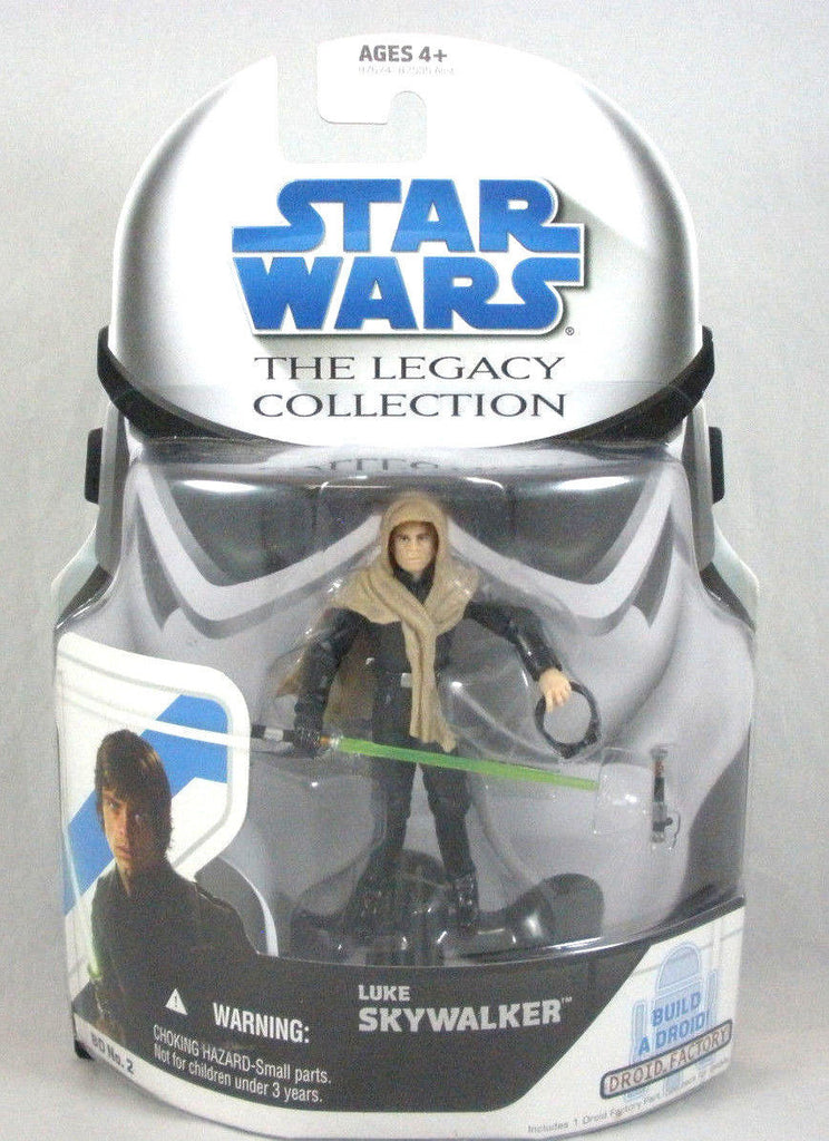 BD2 Luke Skywalker Legacy Collection 3.75""
