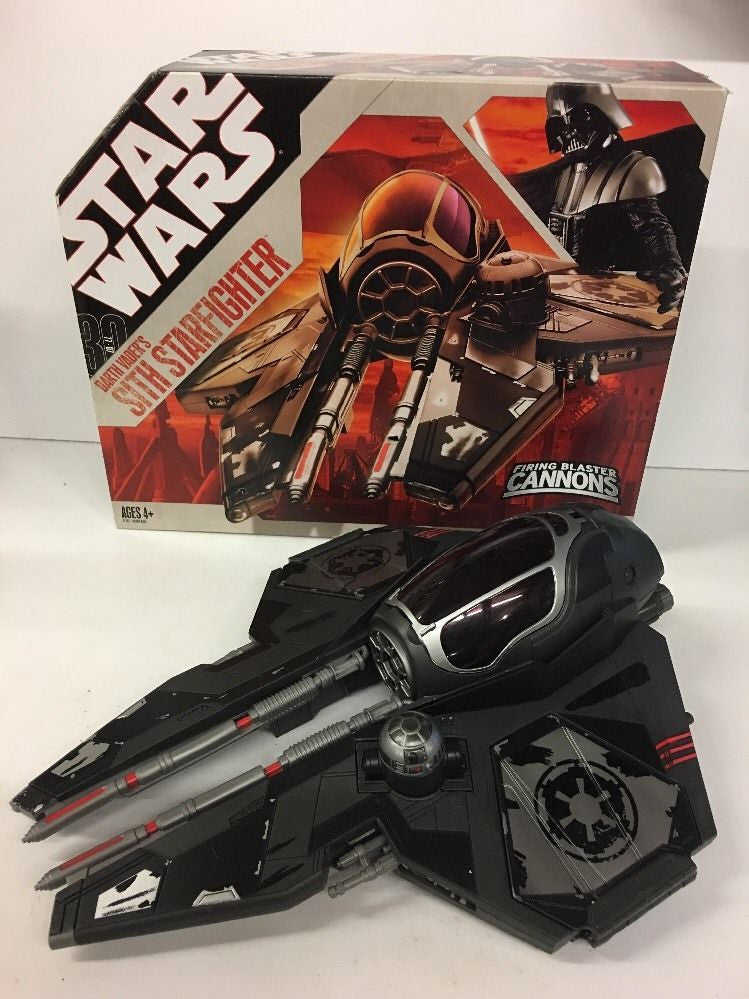 "Darth Vader's Sith Starfighter 30th Anniversary 3.75"" (Open Box)"