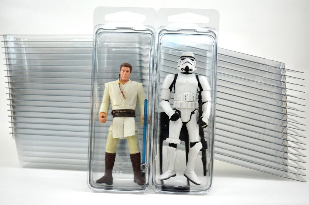 Action Figure Clear Plastic Blister Packs (Storage Cases) for 3.75""