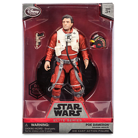 Poe Dameron Elite Series Die Cast Action Figure - 6 1/2'' - Star Wars: The Force Awakens