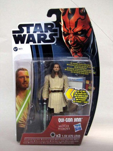 Qui-Gon Jinn Movie Heroes Light-Up Blade 3.75""