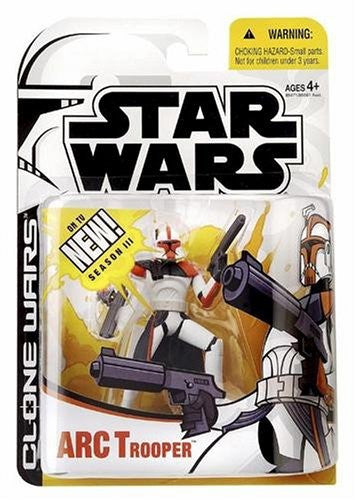 ARC Trooper Star Wars Clone Wars Cartoon Network 3.75""