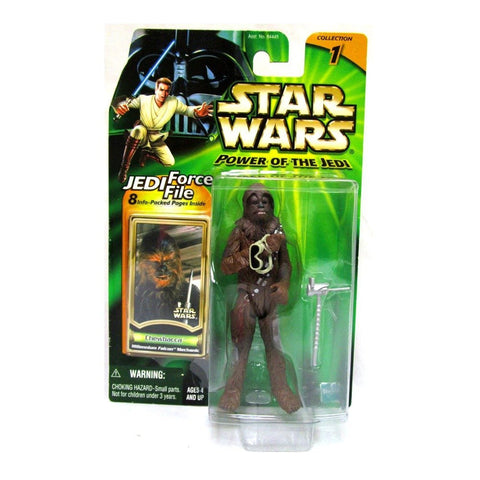 Star Wars Power of the Jedi Chewbacca Millennium Falcon Mechanic