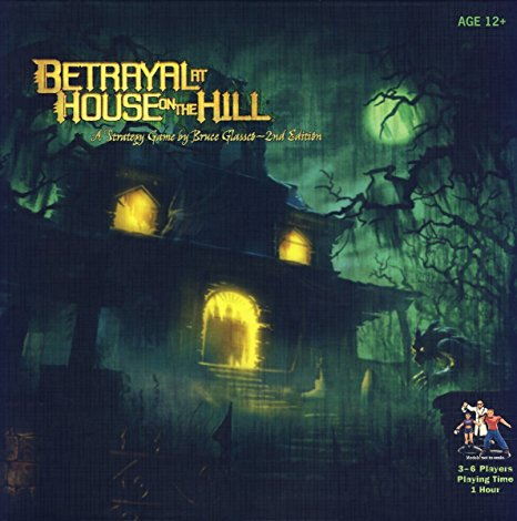 Betrayal at House on the Hill (LIKE NEW)