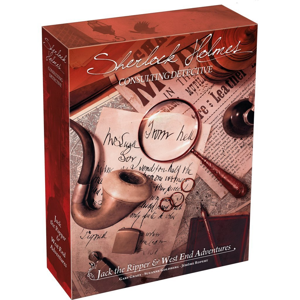 Sherlock Holmes Consulting Detective - 2 - Jack the Ripper & West End Adventures Standalone Game