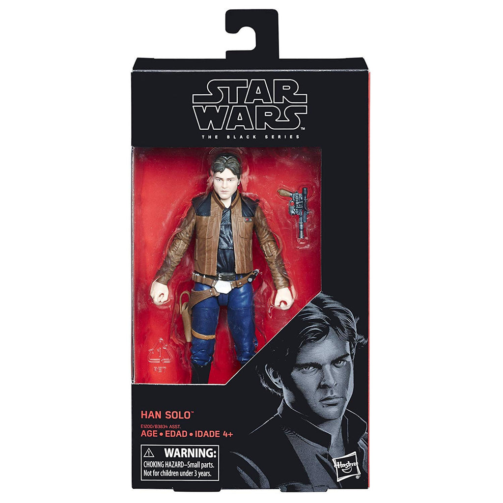 #62 Han Solo Star Wars Black Series 6""