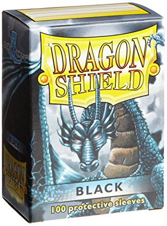 Dragon Shield - 100ct Standard Size - Black