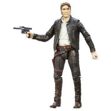 Han Solo (Force Awakens) Black Series Loose 6""