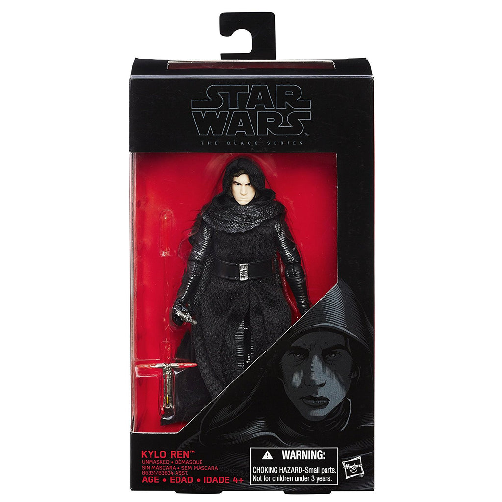 #26 Kylo Ren Unmasked Star Wars Black Series 6""
