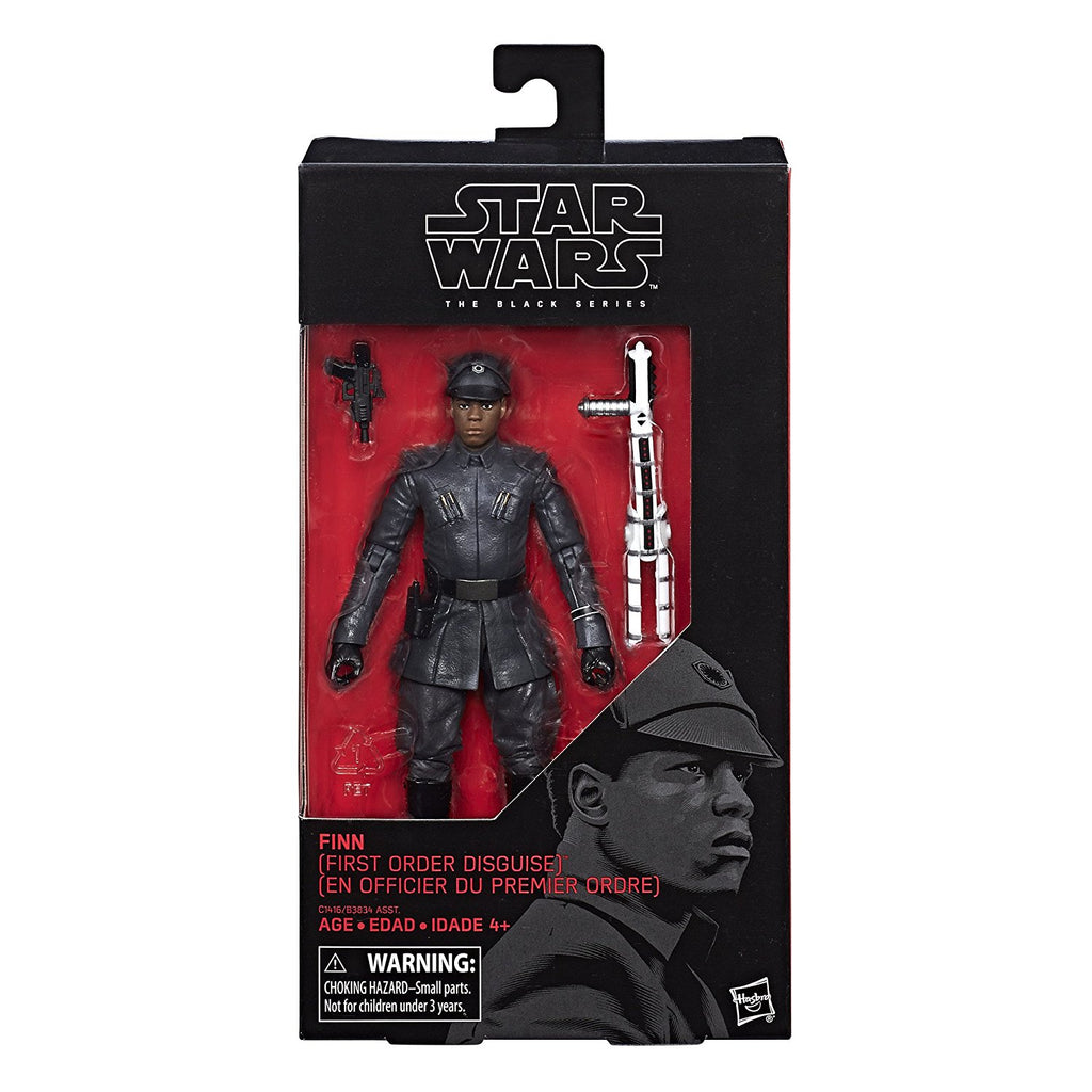 #51 Finn (First Order Disguise) Star Wars Black Series 6""