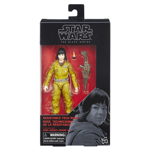 #55 Resistance Tech Rose Star Wars Black Series 6""