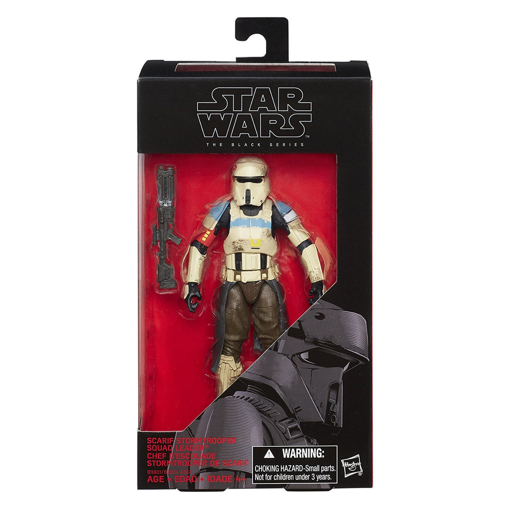 #28 Scarif Stormtrooper Squad Leader Star Wars Black Series 6""