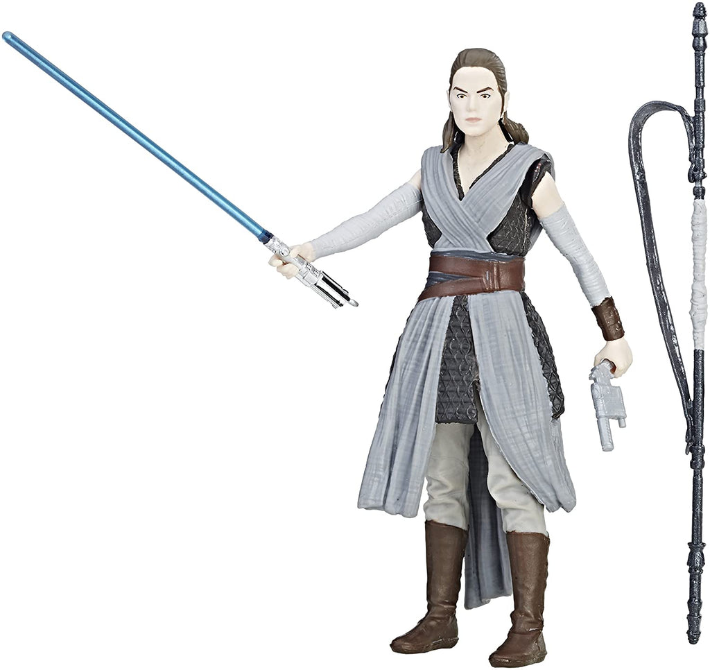 "Rey (Jedi Training) Star Wars Force Link 3.75"" Loose"
