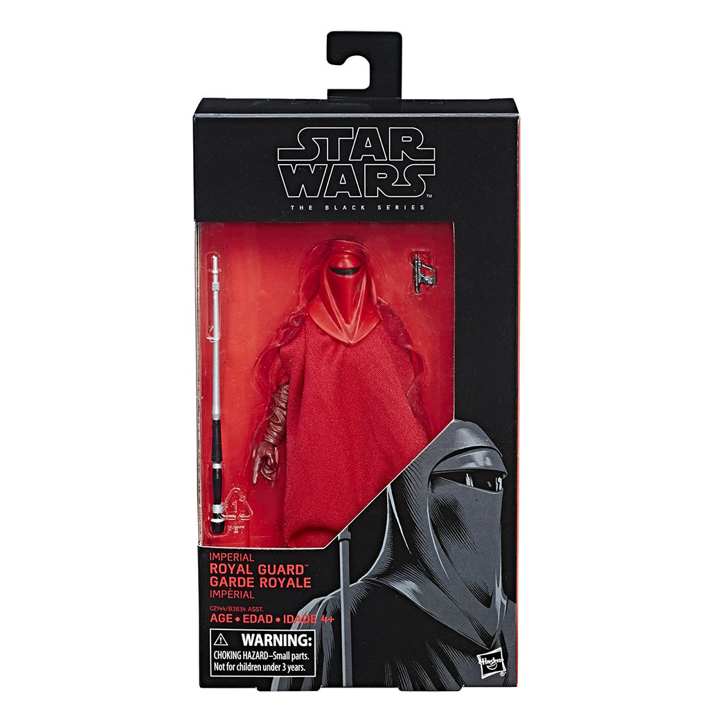 #38 Emperor's Royal Guard Star Wars Black Series 6""