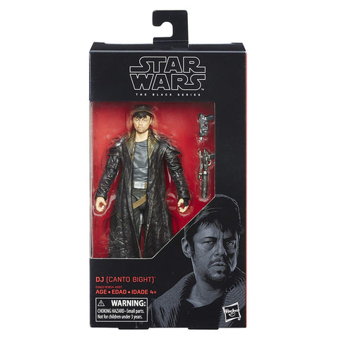 #57 DJ (Canto Bight) Star Wars Black Series 6""