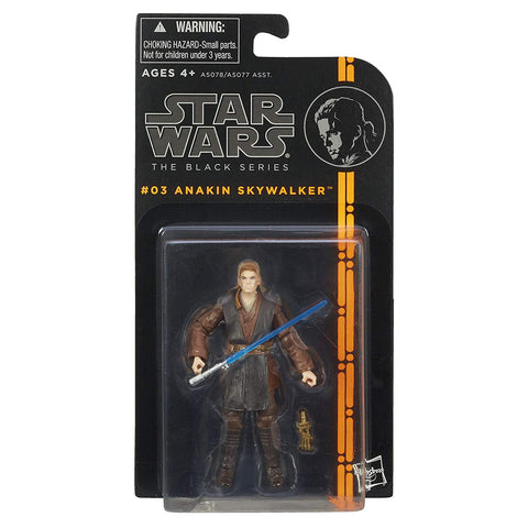 #03 Anakin Skywalker Star Wars Black Series 3.75""