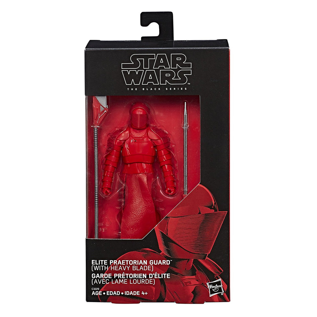 "Star Wars Black Series Elite Praetorian Guard Heavy Blade 6/"" Loose Action Figure"
