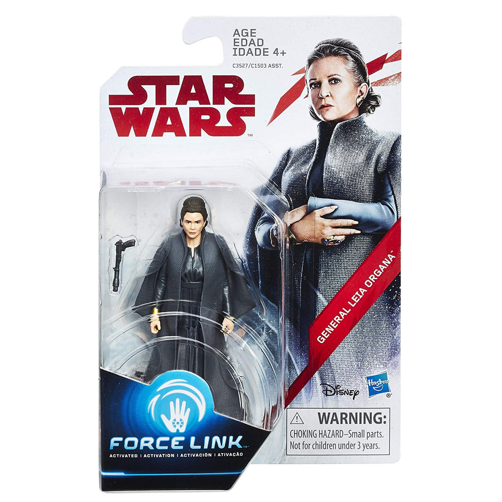 General Leia Organa Star Wars Force Link 3.75""