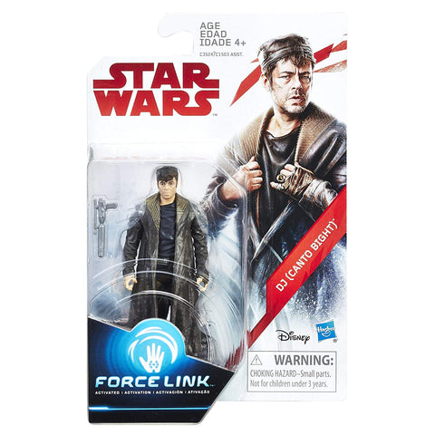 DJ (Canto Bight) Star Wars Force Link 3.75""