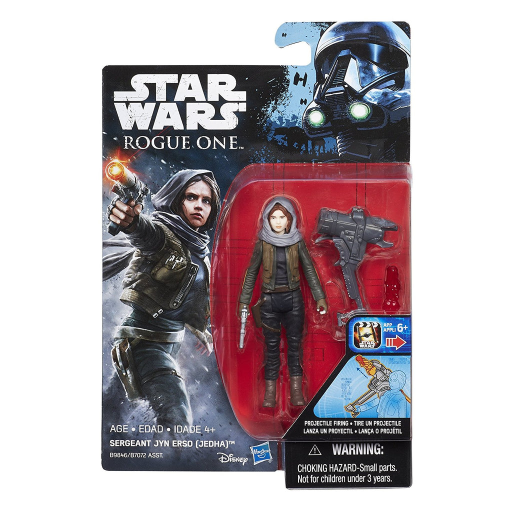 Sergeant Jyn Erso (Jedha) Star Wars Rogue One 3.75""